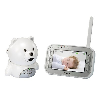 VTech® Teddy Bear Video Baby Monitor with Talk-Back Intercom and Night Vision - VM346