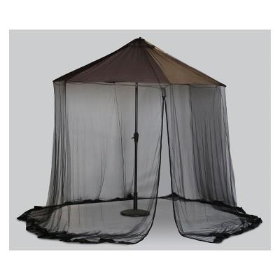 Scram Adjustable Canopy Black 9  - Outdoor Decor