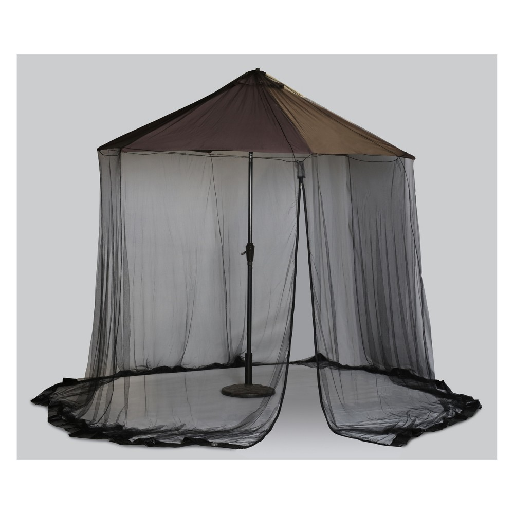 Image of 9' Scram Adjustable Canopy Black - Outdoor Décor