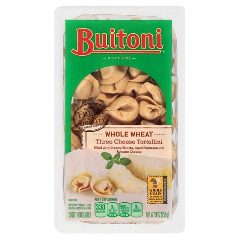 Buitoni Whole Wheat Three Cheese Tortellini - 9oz - image 1 of 5
