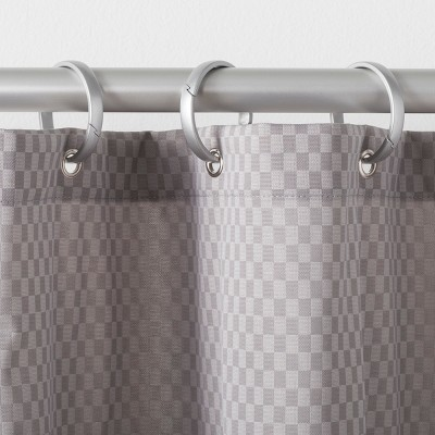 Rustproof O Ring Aluminum Shower Curtain Hooks   Made By Design™