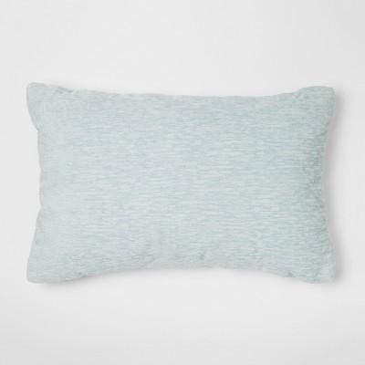 Blue Chenille Lumbar Throw Pillow - Threshold™