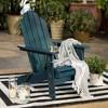 Patio Wood Adirondack Chair - Saracina Home - image 2 of 4