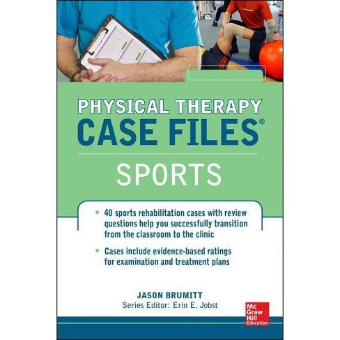 Physical Therapy Case Files, Sports - (Lange Case Files) by  Jason Brumitt & Erin E Jobst (Paperback) - image 1 of 1