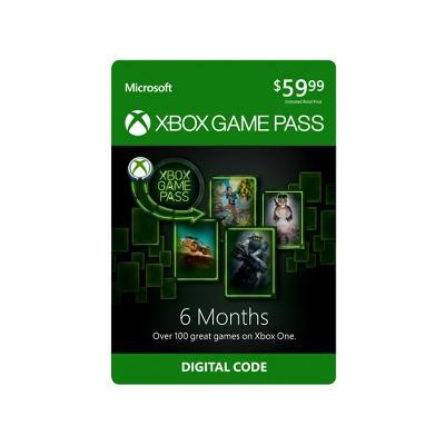 Xbox Game Pass: 6 Months (Digital)