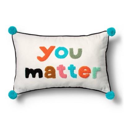 You Matter Throw Pillow - Christian Robinson x Target