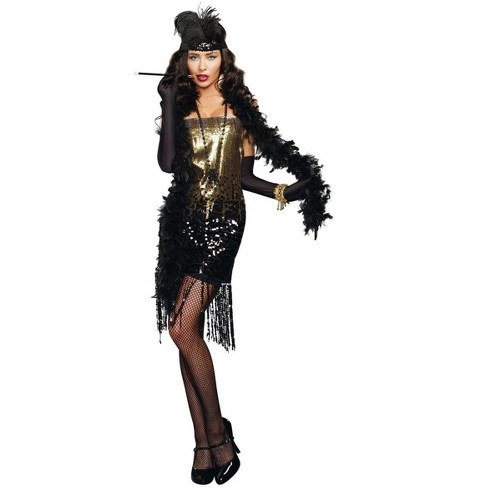 Dazzle Me Roaring 20's Flapper Adult Costume - image 1 of 1