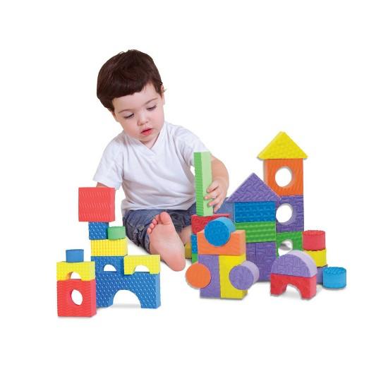 Edushape Textured Blocks - Set of 80 image number null