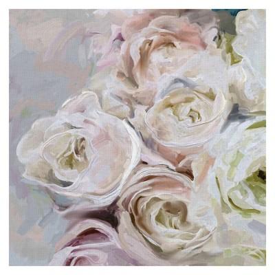 "30""x30"" Melody Brights By Studio Arts Art On Canvas - Fine Art Canvas"