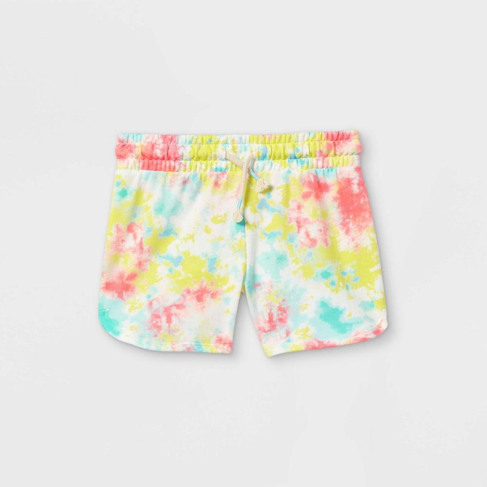 Girls 39 Tie Dye Knit Pull On Shorts Cat 38 Jack 8482 Xs