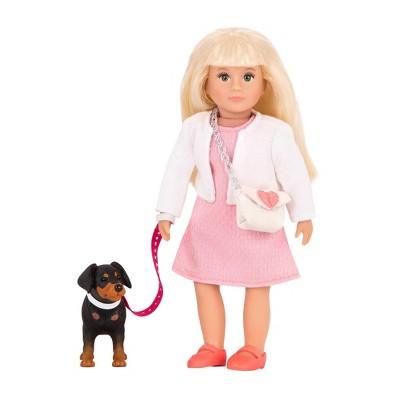 """Lori - 6"""" Mini Doll & Dog - Nadine & Nix"""