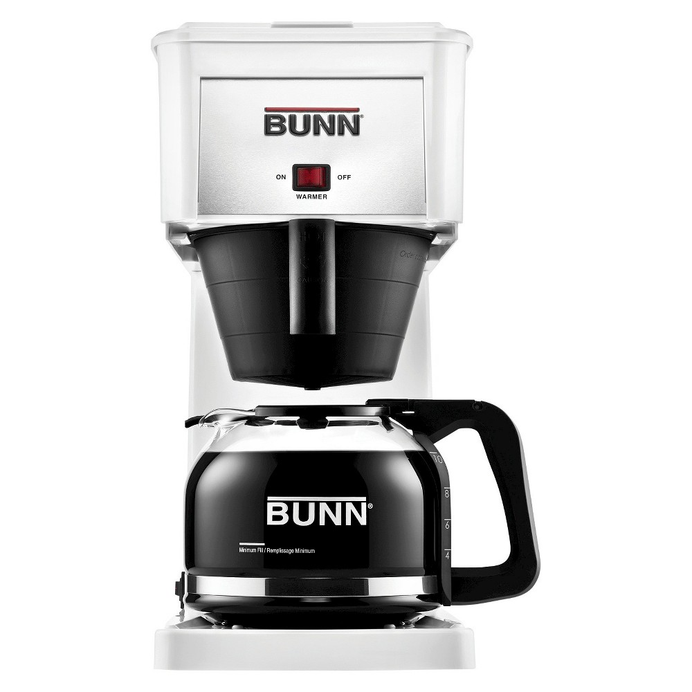 Bunn Velocity Brew 10 Cup Coffee Brewer – White GR-W 10300177