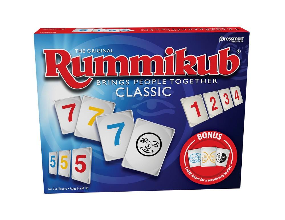 Pressman Rummikub Twist Game, Board Games