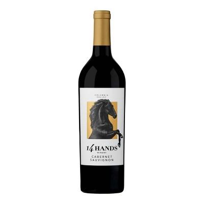 14 Hands Cabernet Sauvignon Red Wine - 750ml Bottle