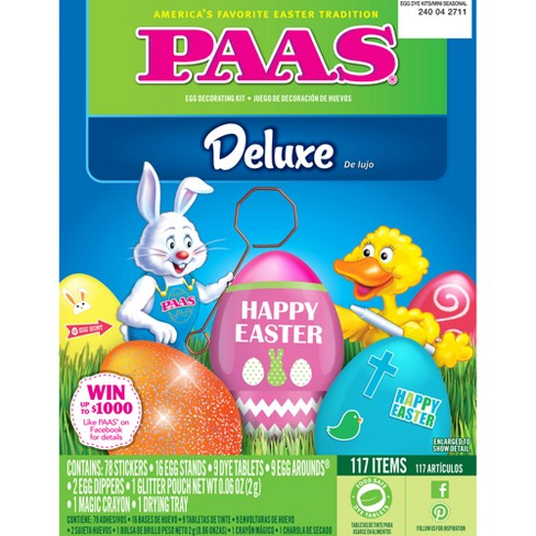 Easter Paas Deluxe Egg Decorating Kit - image 1 of 1