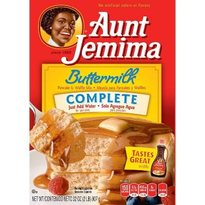 Aunt Jemima Complete Buttermilk Pancake & Waffle Mix - 2lb