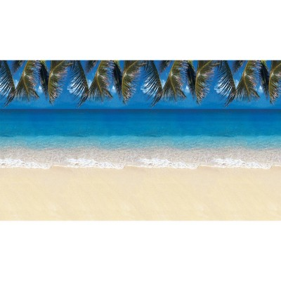 4pk 4'x12' Fadeless Bulletin Board Art Paper Tropical Beach - Pacon