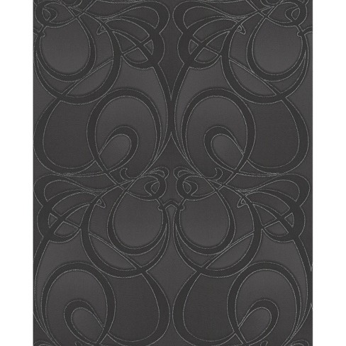 Graham & Brown Jazz Wallpaper - Black - image 1 of 1