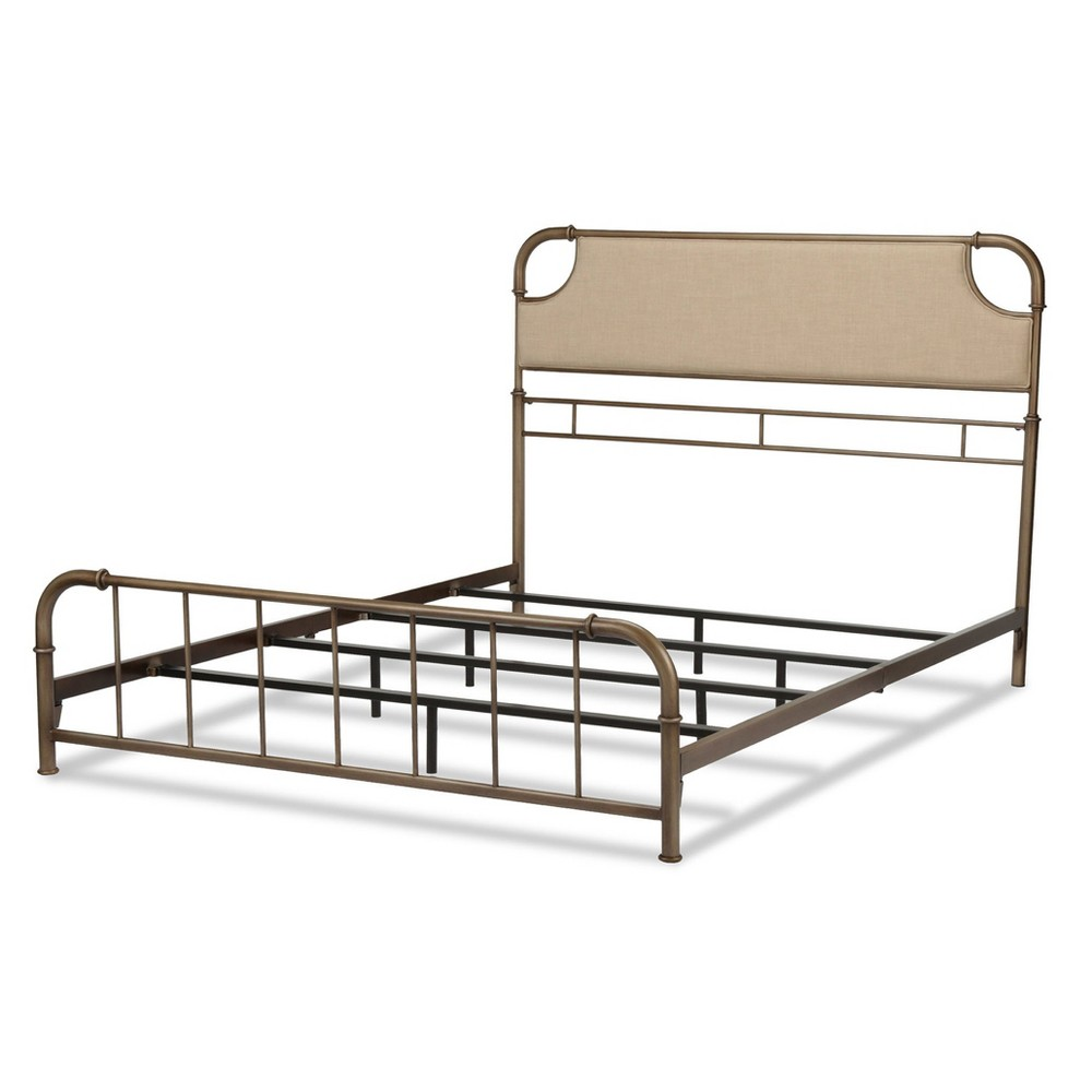 Dahlia Upholstered Bed - Gray - Full - Fashion Bed Group