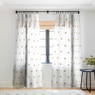 Holli Zollinger FLORA MINI Single Panel Sheer Window Curtain - Deny Designs
