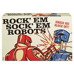 Rock 'Em Sock 'Em Robots Board Game