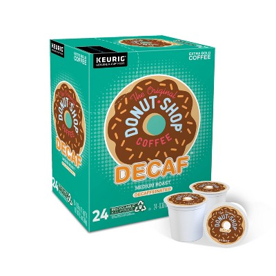 24ct The Original Donut Shop Decaf Keurig K-Cup Coffee Pods Decaffeinated Medium Roast
