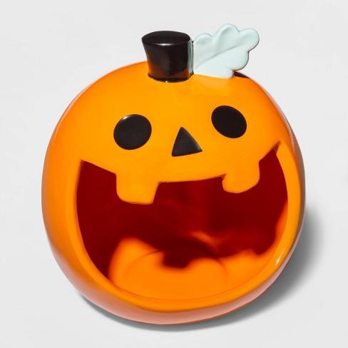 Orange Pumpkin Ceramic Candy Bowl - Hyde & EEK! Boutique™ - image 1 of 1
