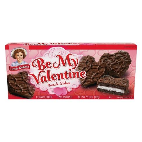 Little Debbie Be My Valentine Chocolate Cakes - 10ct/11oz - image 1 of 3