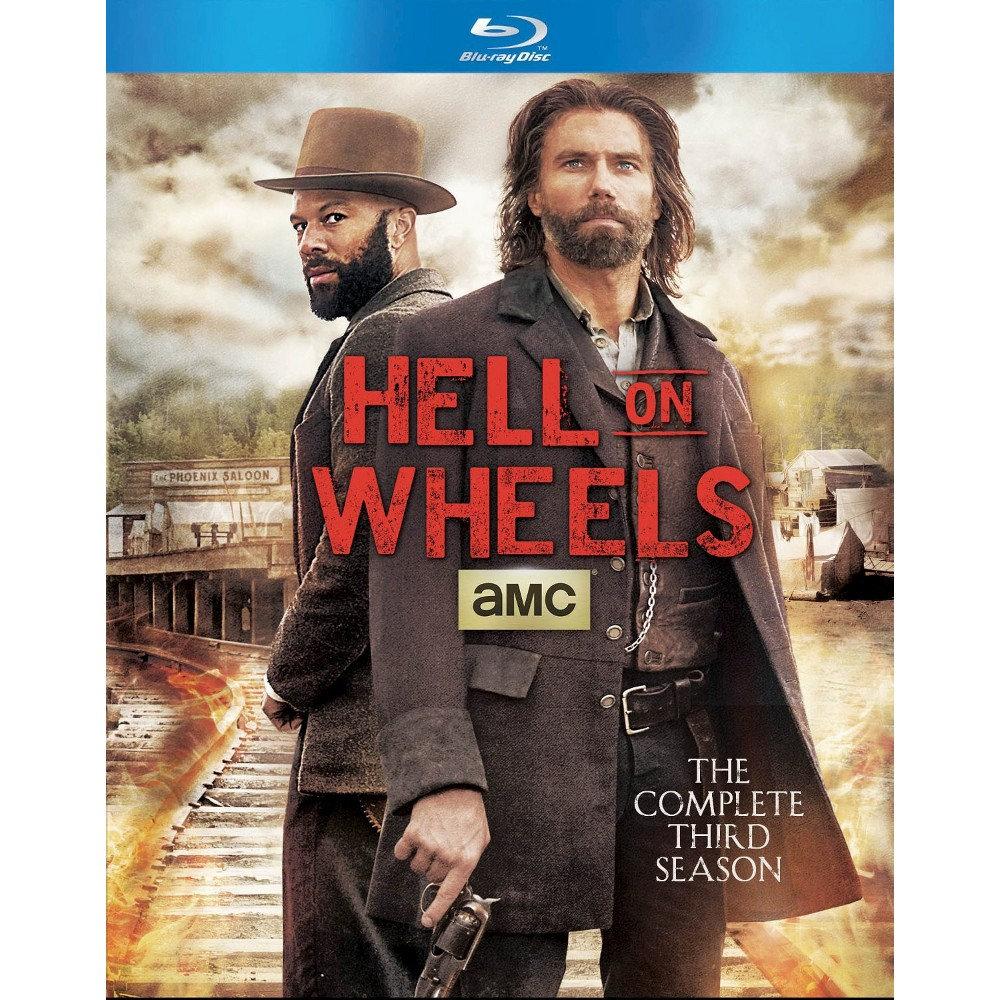 Hell on Wheels: The Complete Third Season (3 Discs) (Blu-ray)