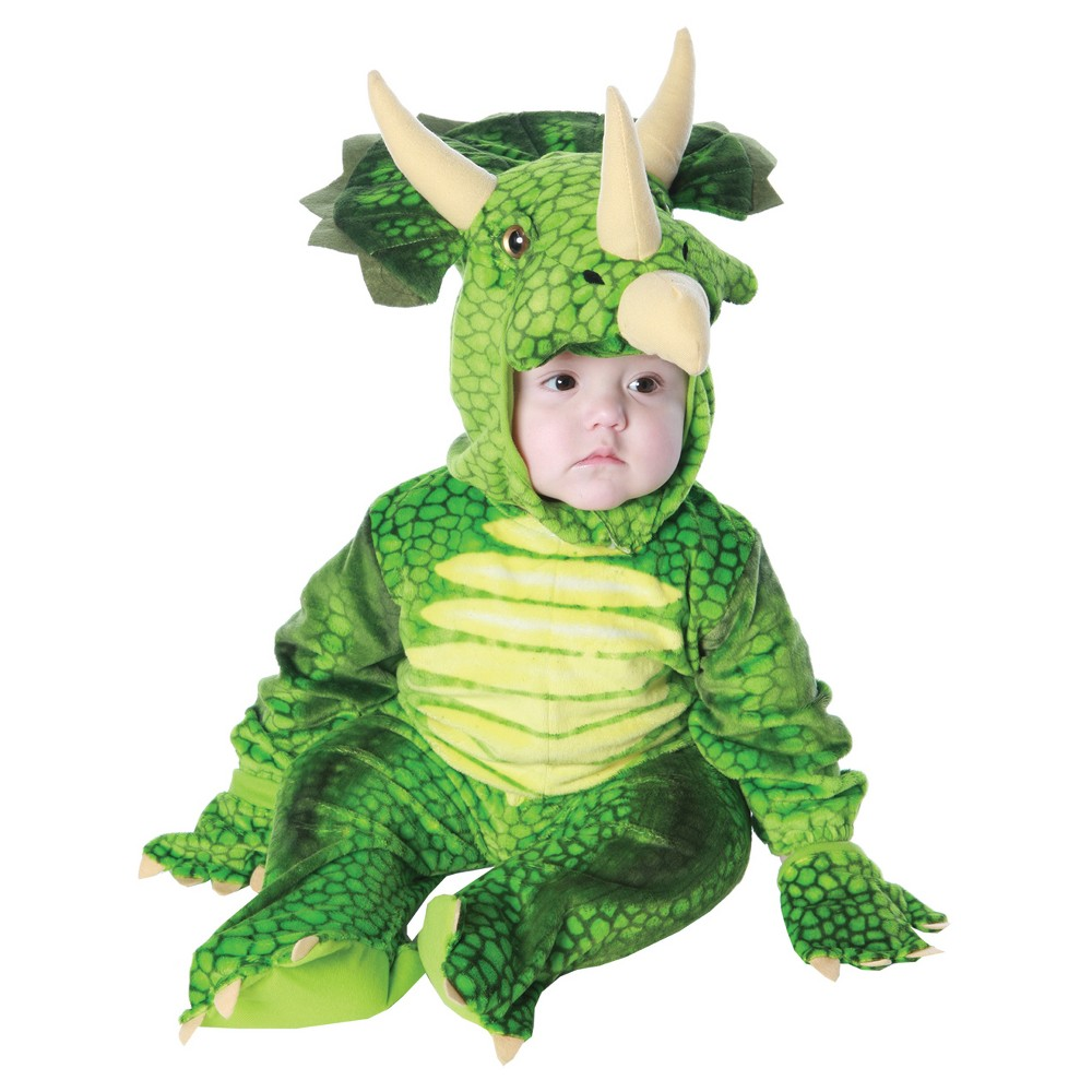 Toddler Triceratops Costume 18-24 Months Mo, Toddler Unisex, Size: 18-24M, Multi-Colored