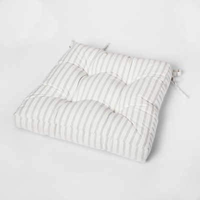 Cream Stripe Square Chairpad - Threshold™