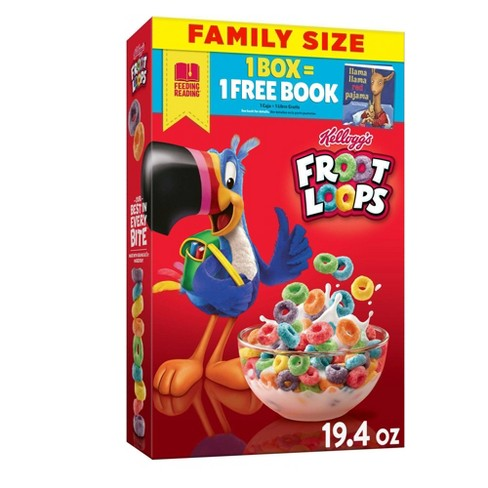Froot Loops Breakfast Cereal - 19.4oz - Kellogg's - image 1 of 4