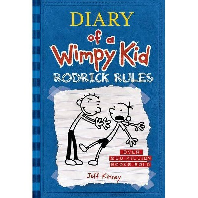 Wimpy Kid Rodrick Rules - by Jeff Kinney (Hardcover)