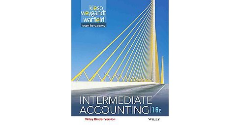 Intermediate Accounting (Paperback) (Ph.D. Donald E. Kieso) - image 1 of 1