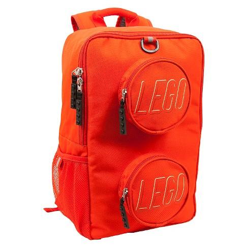 "LEGO Brick 16"" Kids' Backpack - Red - image 1 of 4"