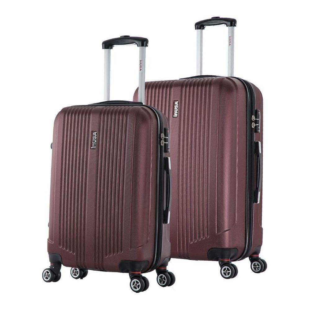 InUSA San Francisco 2pc Hardside Spinner Luggage Set 22