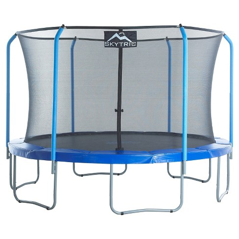 "Skytric 11' Trampoline with Top Ring Enclosure System equipped with the ""Easy Assemble Feature"" - image 1 of 6"