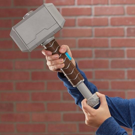 NERF Power Moves Marvel Avengers Thor Hammer Strike image number null