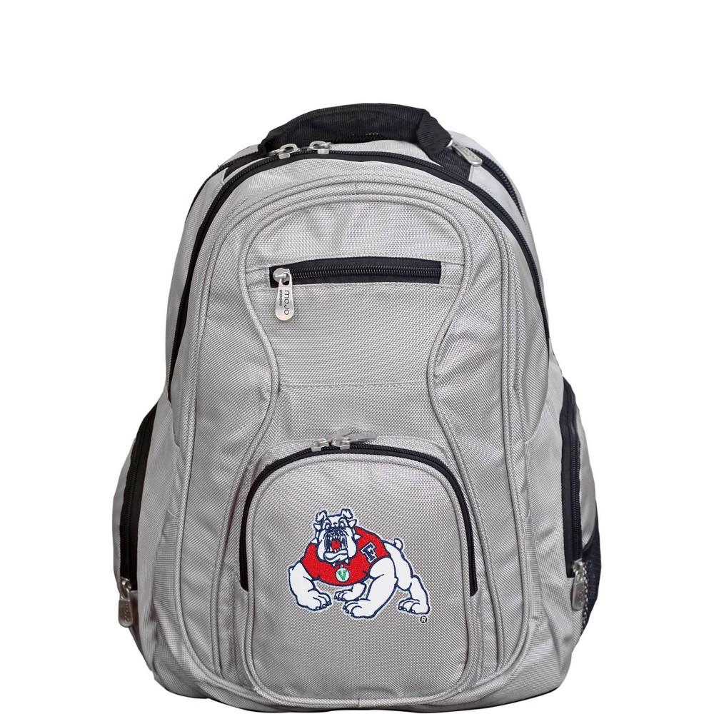 NCAA Fresno State Bulldogs Gray Premium Laptop Bag
