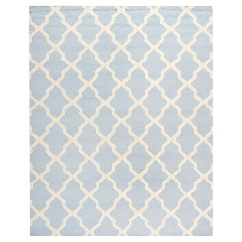 "Maison Textured Rug - Light Blue / Ivory (7'6""X9'6"") - Safavieh® - image 1 of 4"