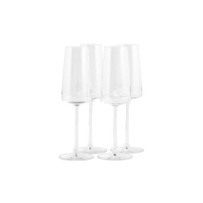 8oz 4pk Crystal Power Champagne Flute Glasses - Stoelzle