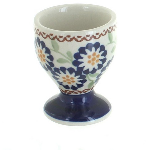 Blue Rose Polish Pottery Peach Blossom Egg Cup - image 1 of 1