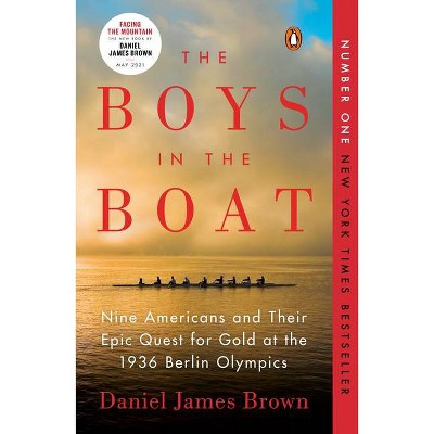 The Boys in the Boat: Nine Americans and Their Epic Quest for Gold at the 1936 Berlin Olympics(Paperback) by Daniel James Brown