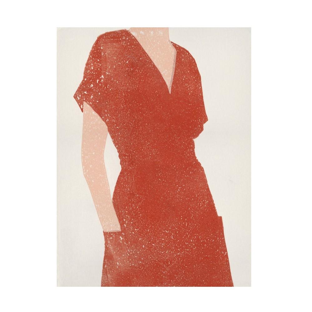 35 34 X 47 34 Moira Hershey 39 All Dressed Up I 39 Unframed Canvas Art Trademark Fine Art