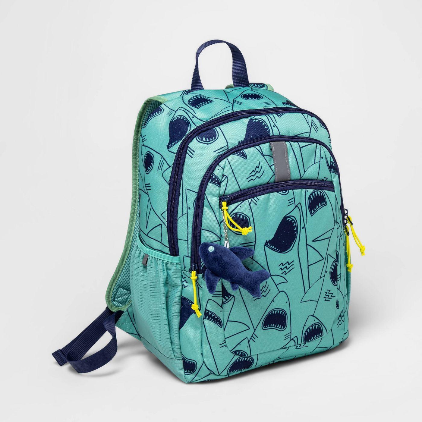 17'' Kids' Backpack Shark - Cat & Jack™ - image 1 of 8