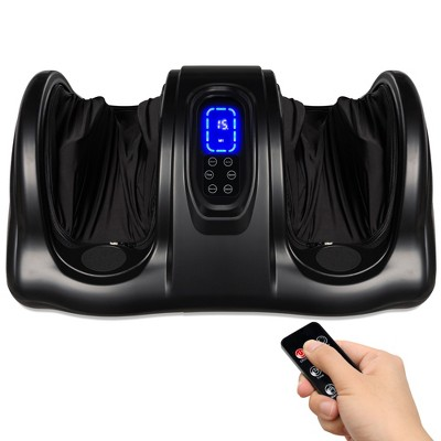 Best Choice Products Therapeutic Kneading & Rolling Shiatsu Foot Massager w/ High Intensity Rollers, Remote