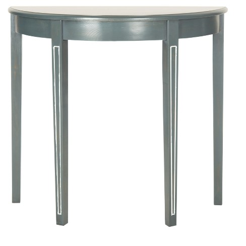 Jethro Console Table - Teal/White - Safavieh - image 1 of 3