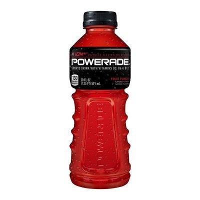 POWERADE Fruit Punch Sports Drink - 20 fl oz Bottle
