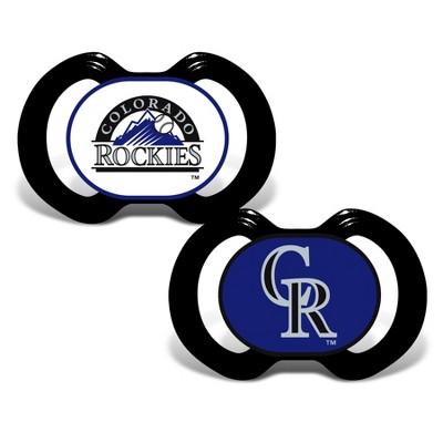 Colorado Rockies 2pk Pacifier Set