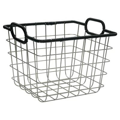 Wire Milk Crate 11  - Black - Room Essentials™